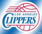 Logo Los Angeles Clippers, NBA-Team. Pacific Division, Western Conference