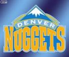 Logo Denver Nuggets, NBA-Team. Northwest Division, Western Conference