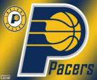 Logo der Indiana Pacers NBA-Team. Central Division, Eastern Conference