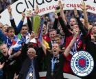Rangers FC, Glasgow Rangers, Meister der Scottish Football League 2010-2011