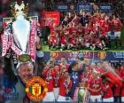 Manchester United, Meister der Fußball-Bundesliga Englisch. Premier League 2010-2011