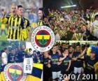 Fenerbahçe SK, meister des türkischen Fußball-Liga, Super Lig 2010-2011