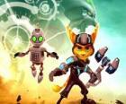 Ratchet und Clank Roboter, Hauptprotagonisten der Abenteuer des Spiels Ratchet und Clank