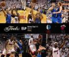 NBA Finals 2011, Spiel 2, Dallas Mavericks 95 - Miami Heat 93