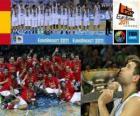 Spanien, Weltmeister von 2011 EuroBasket
