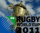 2011 Rugby World Cup. Es ist in Neuseeland von 9 September - 23 Oktober gefeiert