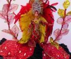 Barbie im Karneval