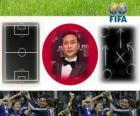 Trainer des Jahres FIFA 2011 für Frauen Fußball Sieger Norio Sasaki