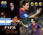 FIFA Ballon d ' or 2011 Gewinner Lionel Messi