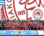 Olympiakos Piräus, Super League 2011-2012 Meister, der griechischen Football League