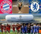 FC Bayern München Vs Chelsea FC. Final UEFA Champions League 2011-2012. Allianz Arena, München, Deutschland
