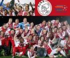 Ajax Amsterdam, Meister Eredivisie 2011-2012, niederländischer Fußball-Liga