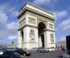 Der Arc de Triomphe, Paris