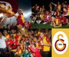 Galatasaray, Meister Super Lig 2011-2012 Türkei Fußball-Liga