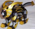 Die Löwe Zord, Yellow Power Ranger. Ninja Power Rangers