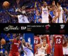 NBA Finals 2012, 1. Match, Miami Heat 94 - Oklahoma City Thunder 105