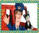 Die postmann Patrick Clifton, Postbote Pat mit Jess die katze