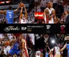NBA Finals 2012, 4 th Spiel, Oklahoma City Thunder 98 - Miami Heat 104