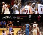 NBA Finals 2012, 5 th Spiel, Oklahoma City Thunder 106 - Miami Heat 121