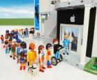 Geschäft Apple Playmobil