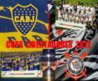 Boca Juniors vs. Corinthians. Copa Libertadores Finale 2012