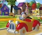 Noddy, die Ihr Auto fahren