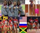 Leichtathletik 4x400m Frauen London 2012