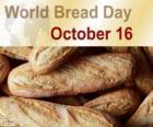 16 Oktober, Welttag des Brotes