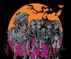 Die Monster High in der Nacht von Halloween
