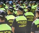 Stadtpolizei, madrid