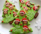 Kekse Weihnachten Weihnachtsbaum-Form