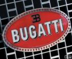 Logo von Bugatti, französische Marke italienischer Herkunft
