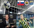 FIFA Puskás-Preis 2012 für Miroslav Stoch