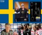 Trainer des Jahres FIFA 2012 für Frauen Fußball Sieger Pia Sundhage