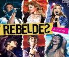 RebeldeS - Ao vivo, 2012