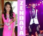 Zendaya, ein Sänger und Songwriter American