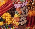 Eine Menge Süßigkeiten