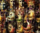 Klassische Karnevalsmasken