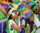 Kinder im Karneval