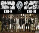 EXO ist eine 12-köpfige Boyband aus Südkorea