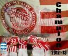 Olympiakos Piräus, Super League 2012-2013 Meister