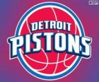 Logo Detroit Pistons, NBA-Team. Central Division, Eastern Conference