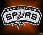 Logo San Antonio Spurs, NBA-Team. Southwest Division, Western Conference
