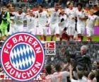 FC Bayern München Meister der Bundesliga 2012-13