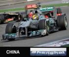 Lewis Hamilton - Mercedes - Grand Prix von China 2013, 3. klassifiziert