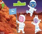 Die Backyardigans Astronauten haben am Mars angekommen