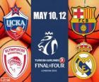 Final Four 2013 London koszykówki Euroliga