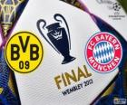 Borussia Dormunt vs FC Bayern München. Final UEFA Champions League 2012-2013. Wembley Stadium, London, Großbritannien