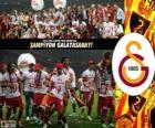 Galatasaray, Meister Super Lig 2012-2013 Türkei Fußball-Liga