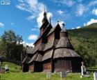 Stabkirche Borgund, Norwegen